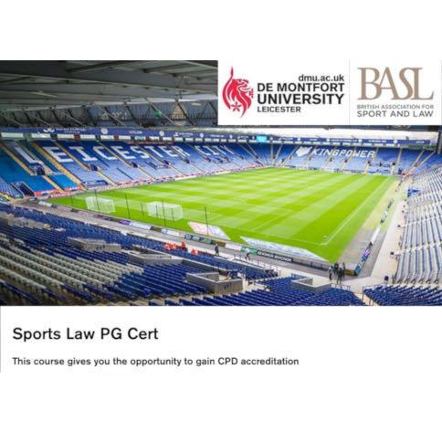 DMU BASL Post Graduate Certificate in Sports Law