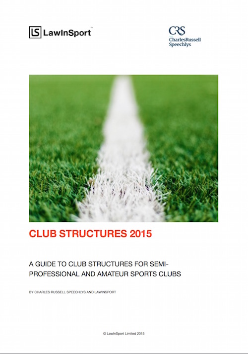 Cover Club Structures 2015
