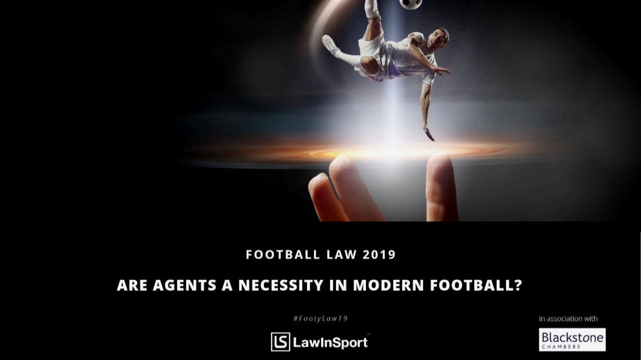 are agents a necessity in modern football
