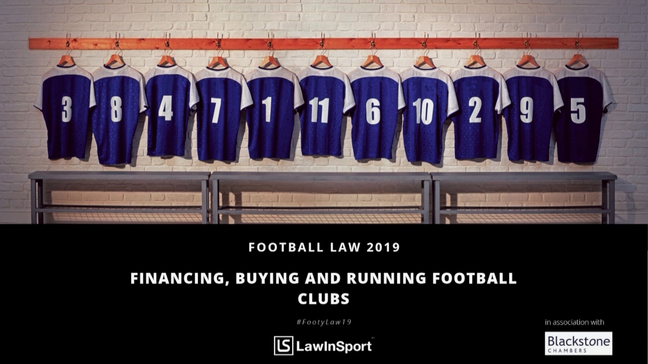 financing buying and running football clubs