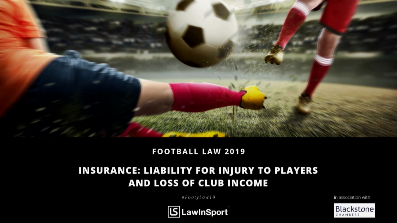 insurance liability for injury to players