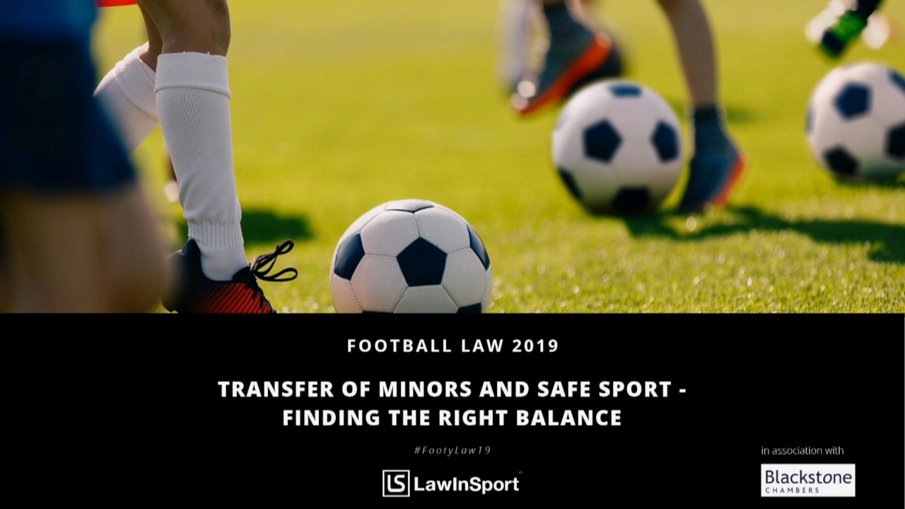 transfer of minors and safe sport