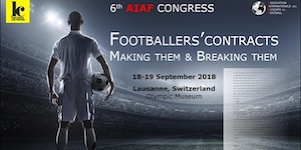 2018 AIAF Congress - Making Them & Breaking Them