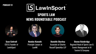 Launch of Sports Law News Roundtable E1