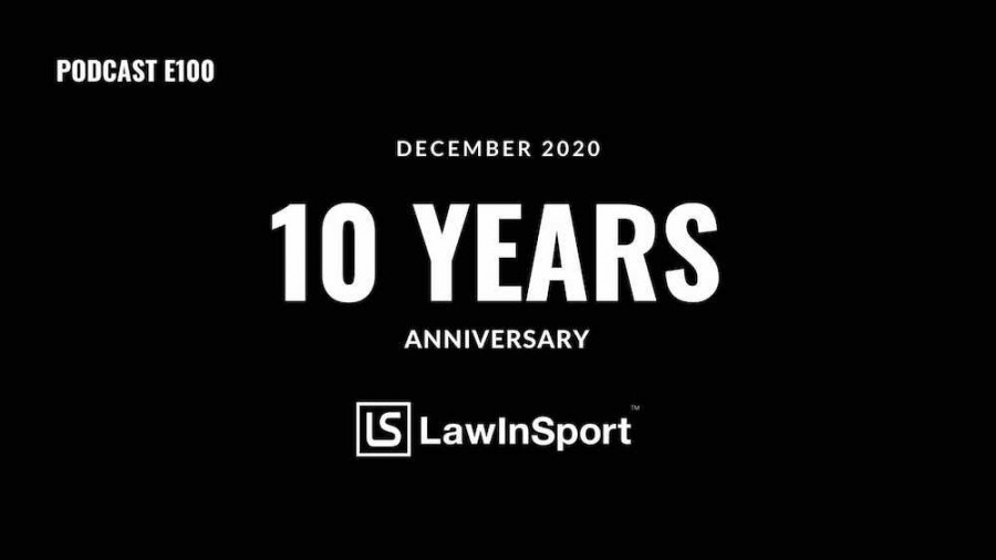10 Years of LawInSport - Sean Cottrell - E100