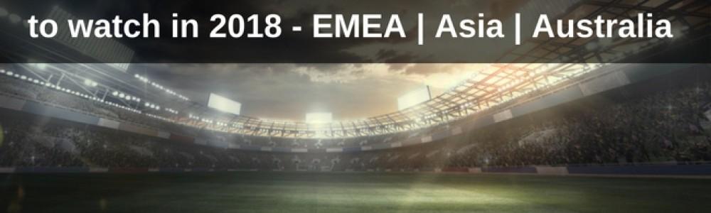EMEA Asia and Australia Key Sports Law Issues 2018 Image