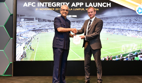 AFC Integrity App Launch