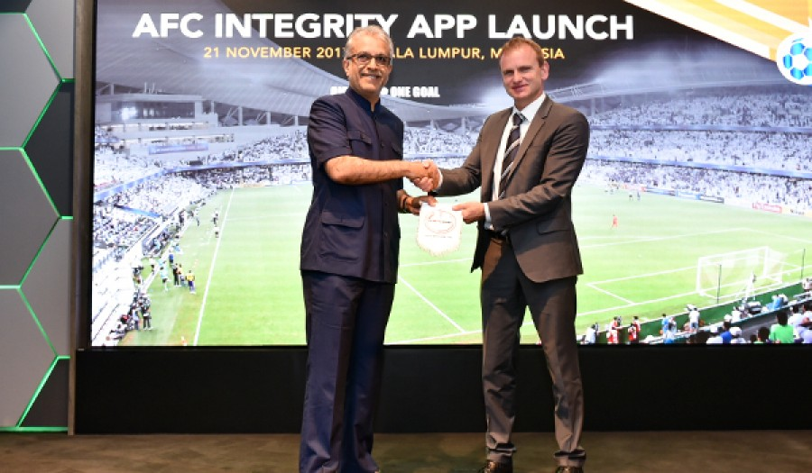 AFC Integrity App Launch