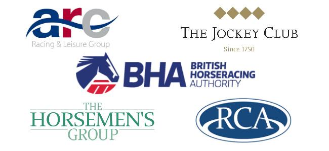 ARC_Jockey_Club_BHA_Horsemens_Group_and_RCA_Logos