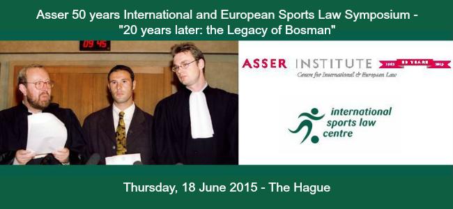 Asser Institut event banner