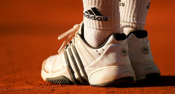 Adidas Tennis Trainers on Clay