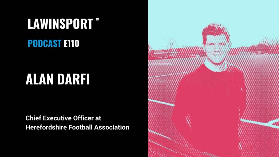 Alan Darfi, Chief Executive Officer, Herefordshire FA - E110