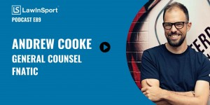 Andrew Cooke, General Counsel. Fnatic, podcast title image episode 89