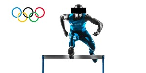 Athlete_Jumping_Hurdle_and_Olympic_Rings