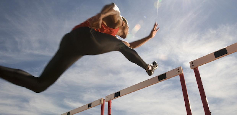Athlete Jumping Athlete