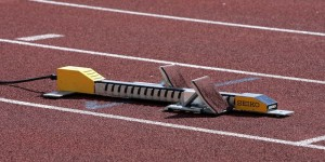 Athletics track blocks