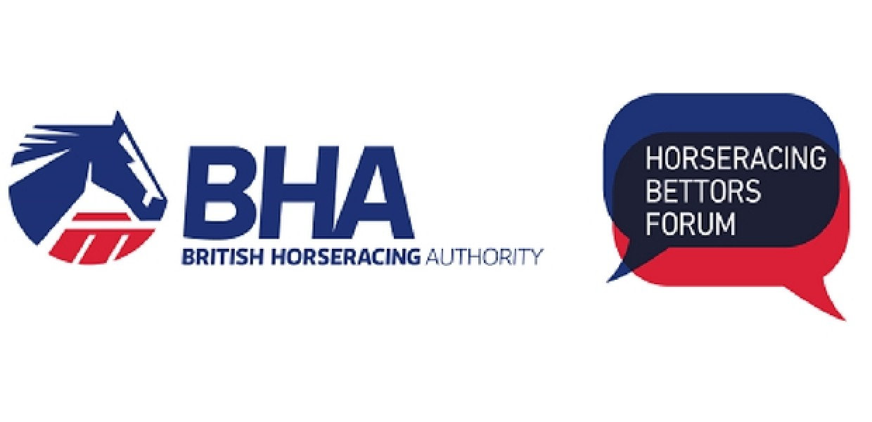 British Horseracing Authority and Horseracing Bettors Forum Logos