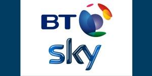 BT and Sky Logos