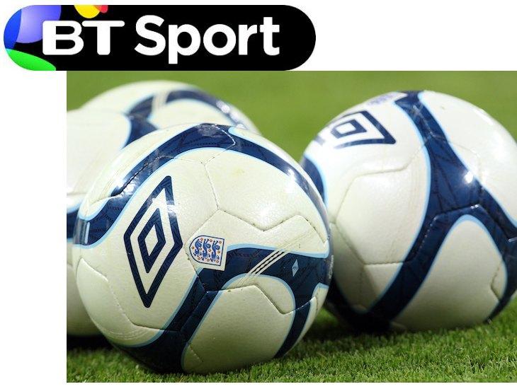BT Sport and Footballs