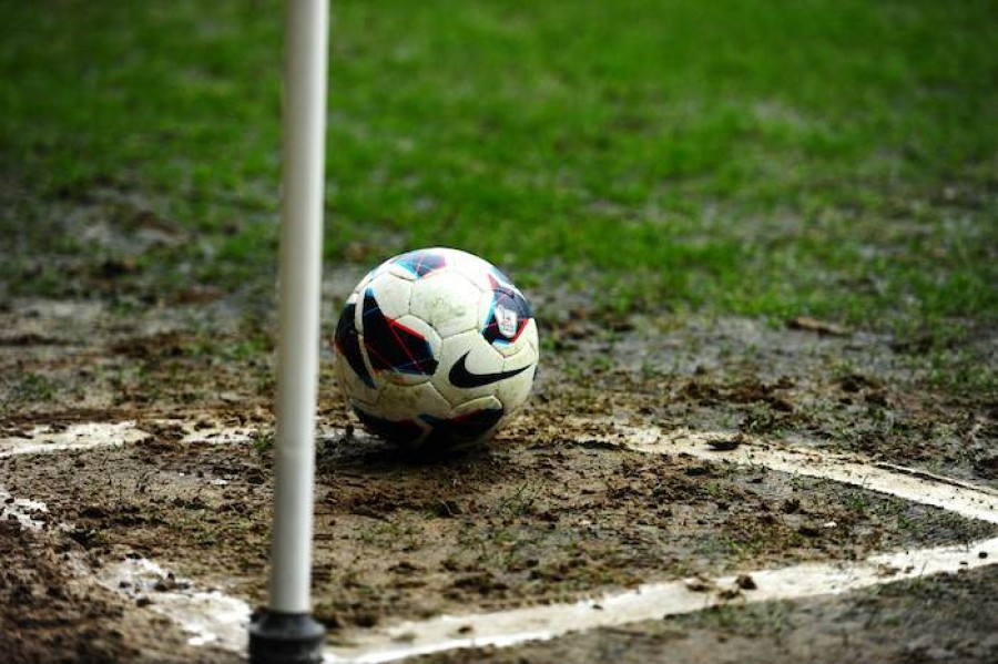 Ball in mud