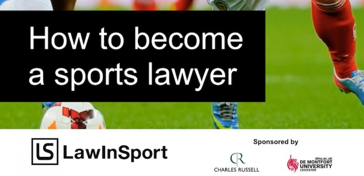How to become a sports lawyer