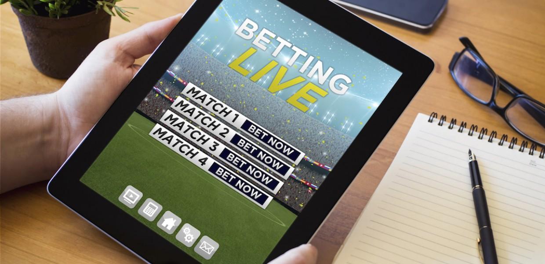 Betting live on iPad