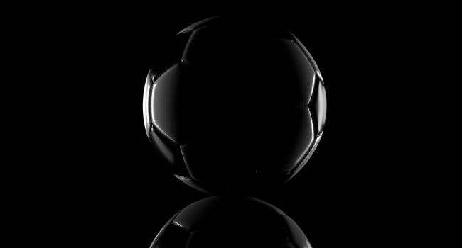 Black_and_White_Football_In_Low_Light