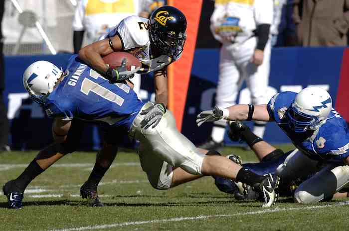 Cal Bears player tackled