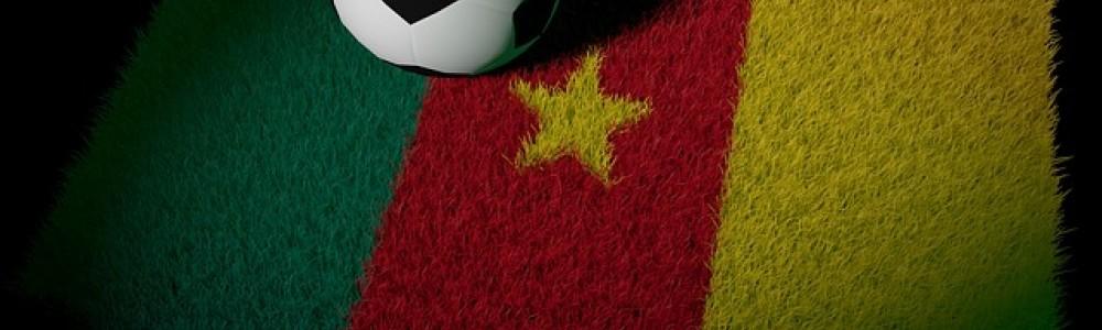 Cameroon Flag and Football