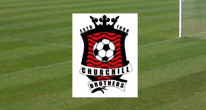 Churchill Brothers Logo on Grass
