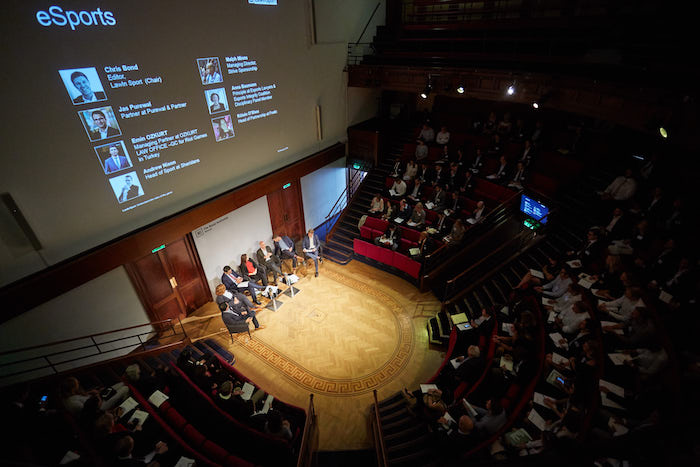 Conference hall for annual conference at the Royal College of Physicians
