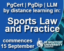 DMU Sports Law & Practice image