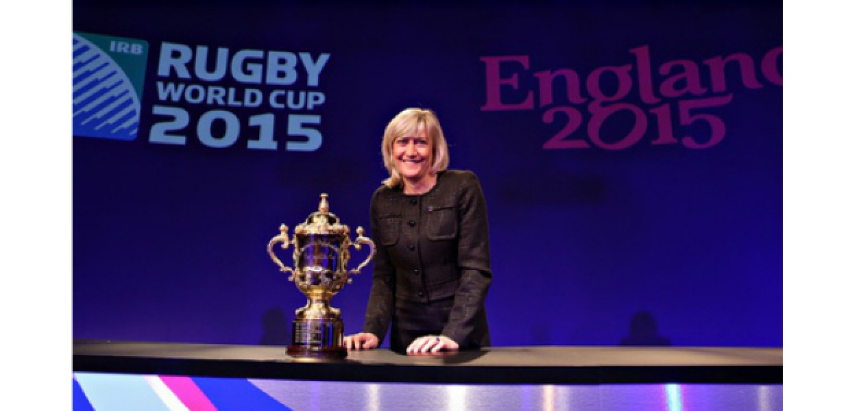 Debbie Jevans, CEO of England Rugby 2015