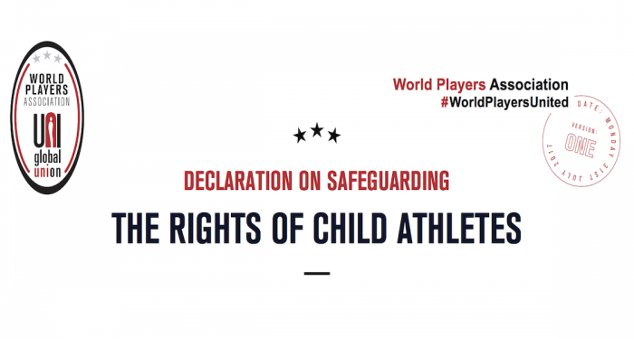 Declaration on safeguarding the rights of child athletes