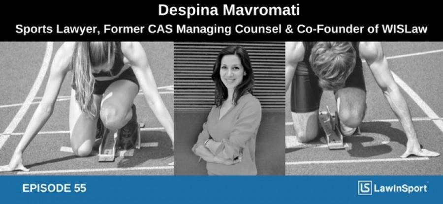 Despina Mavromati interview picture