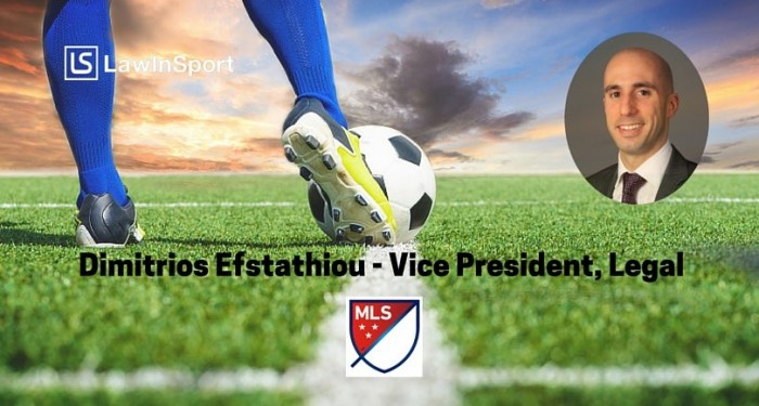 Teaser Image - Dimitrios Efstathiou, Vice President, Legal at Major League Soccer