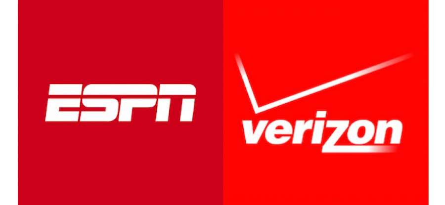 ESPN and Verizon Logos