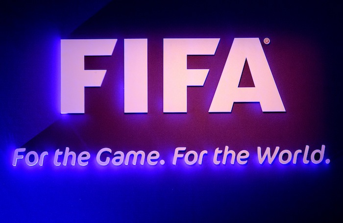 FIFA Illuminated Sign