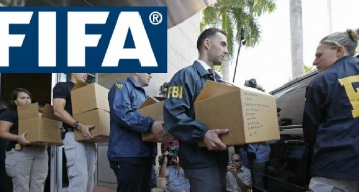 FIFA Logo and FBI Agents