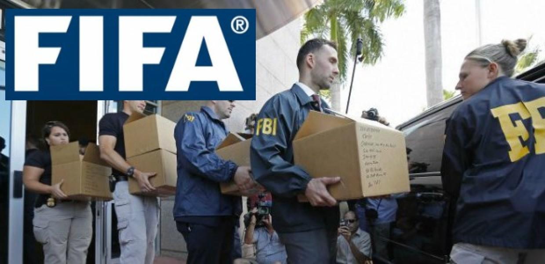 FIFA Logo and FBI Agents