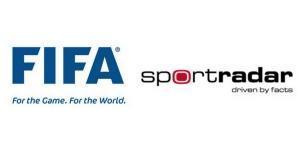 FIFA and Sportradar Logos