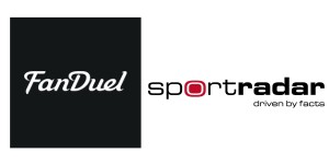 Fan Duel and Sportradar Logos