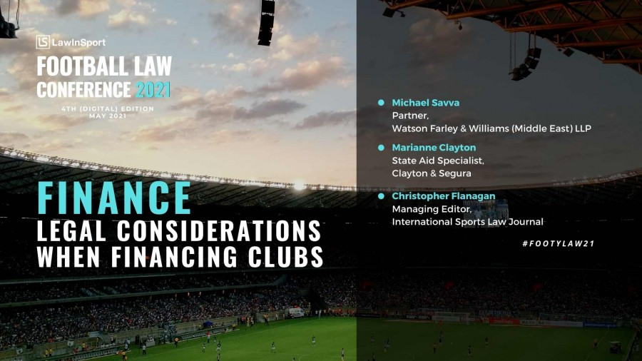 Title image - Finance: legal considerations when financing clubs