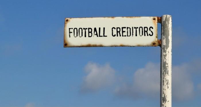 Football_Creditors_Sign_Post