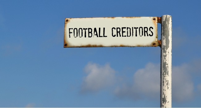 Football_Creditors_Sign_Post