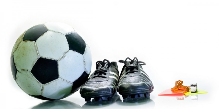 Football Equipment and Cards