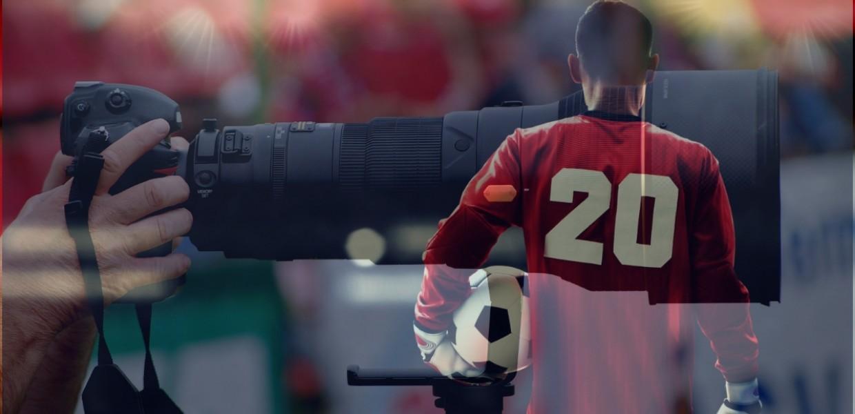 Football media photographer