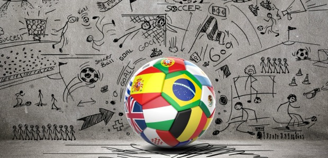 Football_of_Flags_in_front_of_Picture_Wall