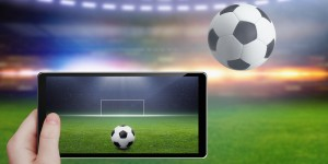 Football Streaming on tablet