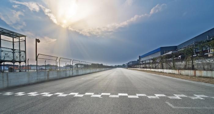 Motorsport racing line